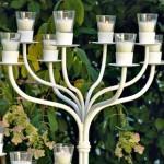candelabro bianco