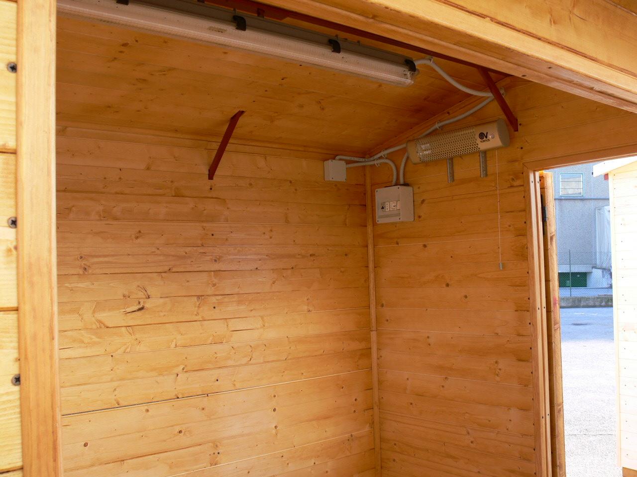 Arriva la casetta in legno nolopoint simplewedding for Impianto elettrico casa in legno
